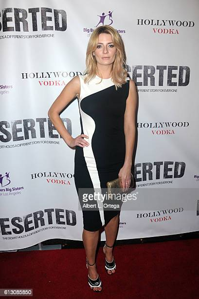 Actress Mischa Barton arrives for the premiere of Winterstone Pictures' 'Deserted' held at Majestic Crest Theatre on October 6 2016 in Los Angeles...