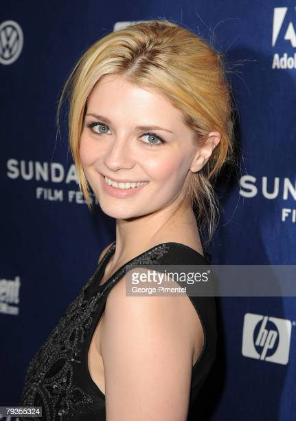 Actress Mischa Barton attends a screening of Assassination of a High School President at Eccles Theatre during the 2008 Sundance Film Festival on...