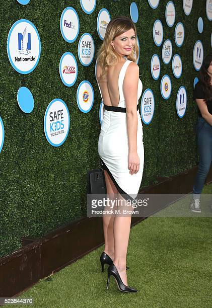 Actress Mischa Barton attends Safe Kids Day at Smashbox Studios on April 24 2016 in Culver City California