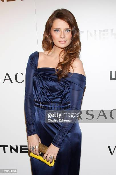 Actress Mischa Barton attends the 2009 Whitney Museum Gala at The Whitney Museum of American Art on October 19, 2009 in New York City.