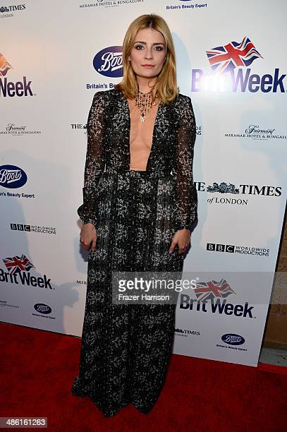 Actress Mischa Barton attends the 8th Annual BritWeek Launch Party at a private residence on April 22 2014 in Los Angeles California