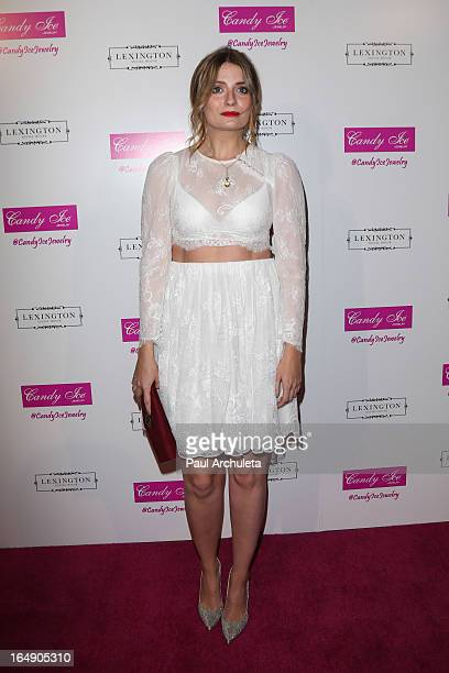 Actress Mischa Barton attends the Fire Ice Gala Benefiting Fresh2o at the Lexington Social House on March 28 2013 in Hollywood California