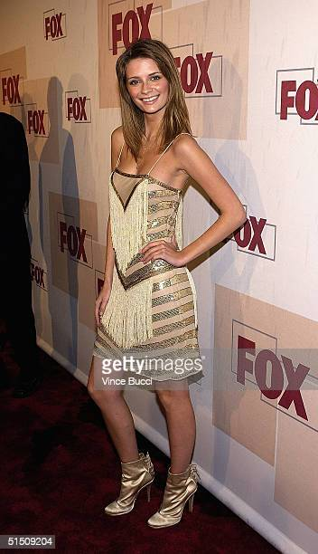 Actress Mischa Barton attends the Fox Fall Season Launch Event at Central October 19 2004 in West Hollywood California