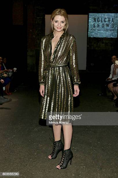 Actress Mischa Barton attends the Globe Fashion Week X China Moment fashion show during New York Fashion Week The Shows at Art Beam on September 12...
