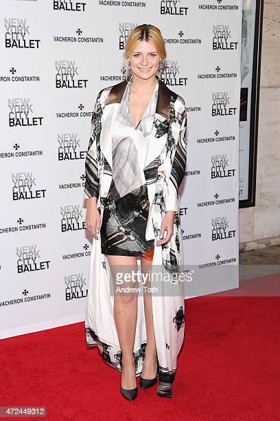 Actress Mischa Barton attends the New York City Ballet 2015 Spring Gala at David H. Koch Theater, Lincoln Center on May 7, 2015 in New York City.