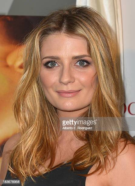 Actress Mischa Barton attends the premiere of Epic Pictures' 'I Will Follow You Into The Dark' at the Landmark Theater on October 8 2013 in Los...