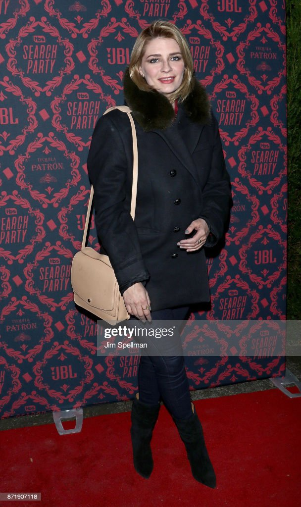 Actress Mischa Barton attends the season 2 premiere of 'Search Party' hosted by TBS at Public Arts at Public on November 8, 2017 in New York City.