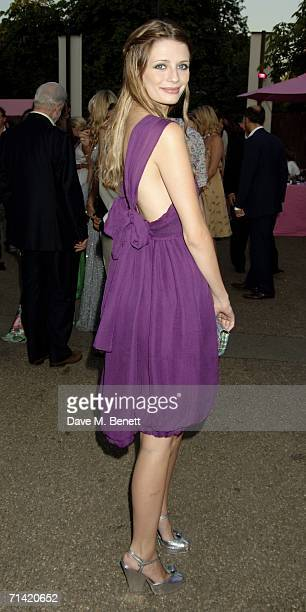 Actress Mischa Barton attends The Serpentine Gallery Summer Party at the Serpentine Gallery on July 11 2006 in London England