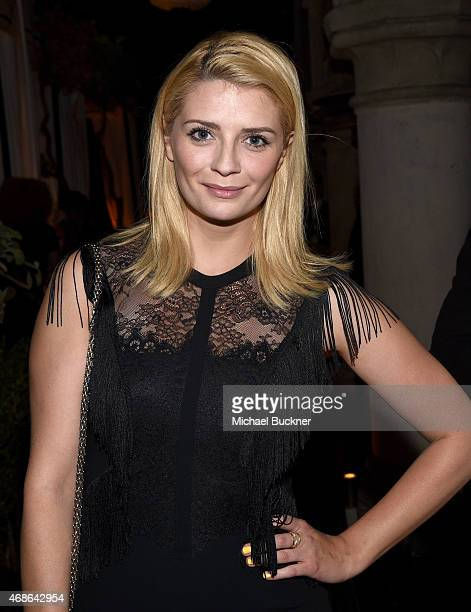 Actress Mischa Barton attends the Variety and Formula E Hollywood Gala at Chateau Marmont on April 4 2015 in Los Angeles California