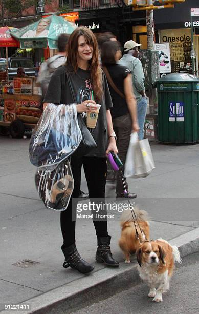 Actress Mischa Barton is seen on the Streets of Manhattan on September 24 2009 in New York City