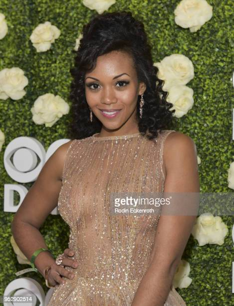Actress Mishael Morgan attends the CBS Daytime Emmy After Party at Pasadena Convention Center on April 29 2018 in Pasadena California