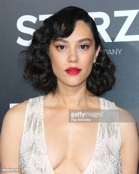 Actress Mishel Prada attends premiere Starz 'Vida' at the Regal LA Live Stadium 14 on May 1 2018 in Los Angeles California