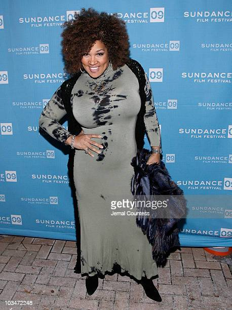 Actress Miss Kitty attends the premiere of Black Dynamite during the 2009 Sundance Film Festival at Library Center Theatre on January 18 2009