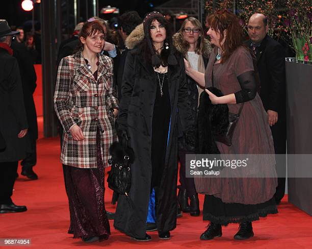 Actress Miss Ming actress Isabelle Adjani and actress Yolande Moreau attend the 'Mammuth' Premiere during day nine of the 60th Berlin International...