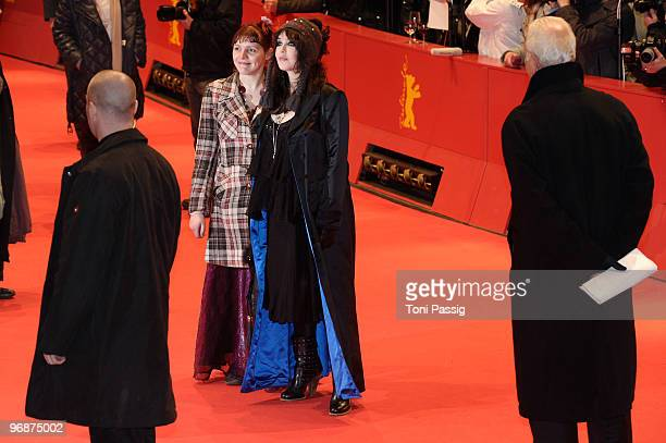 Actress Miss Ming and actress Isabelle Adjani attend the 'Mammuth' Premiere during day nine of the 60th Berlin International Film Festival at the...