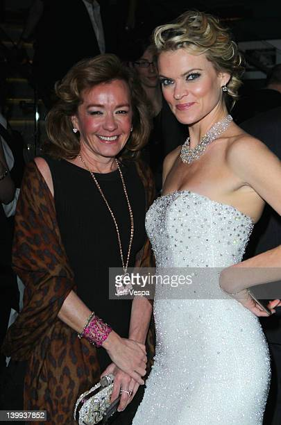 Actress Missi Pyle and Chopard CoPresident and Artistic Director Caroline Scheufele attends The Weinstein Company Celebrates The 2012 Academy Awards...