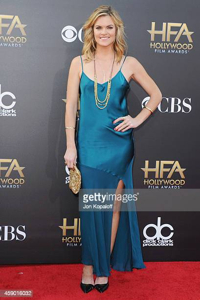 Actress Missi Pyle arrives at the 18th Annual Hollywood Film Awards at Hollywood Palladium on November 14 2014 in Hollywood California