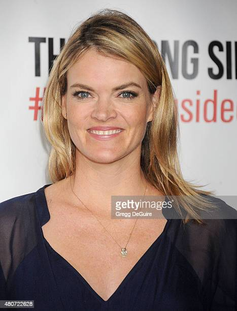 Actress Missi Pyle arrives at the premiere of ESX Productions' 'The Wrong Side Of Right' at TCL Chinese Theatre on July 14 2015 in Hollywood...
