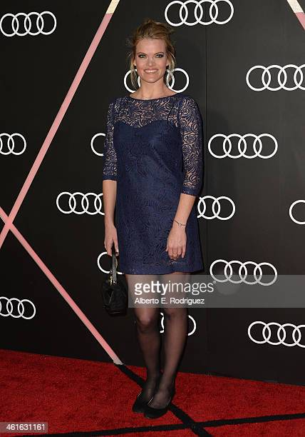Actress Missi Pyle arrives to Audi Celebrates Golden Globes Weekend at Cecconi's Restaurant on January 9 2014 in Los Angeles California