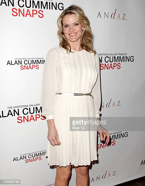 Actress Missi Pyle attends Alan Cumming Snaps photography exhibition at Andaz on April 5 2012 in West Hollywood California