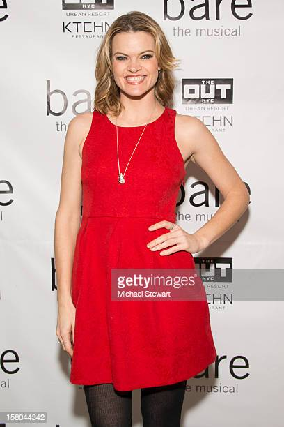 Actress Missi Pyle attends BARE The Musical Opening Night After Party at Out Hotel on December 9 2012 in New York City
