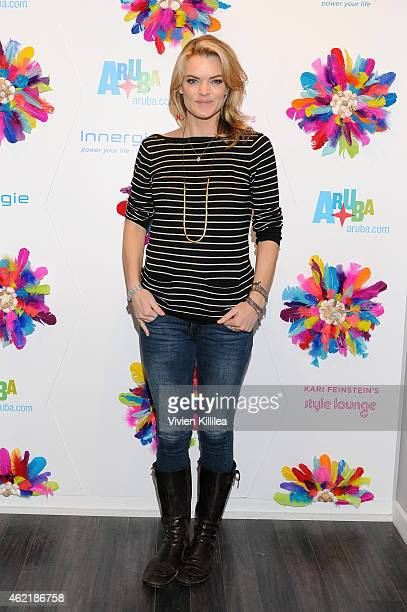 Actress Missi Pyle attends Kari Feinstein's Style Lounge Presented By Aruba Day 3 on January 25 2015 in Park City Utah