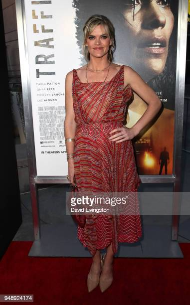 Actress Missi Pyle attends the premiere of Codeblack Films' 'Traffik' at ArcLight Hollywood on April 19 2018 in Hollywood California