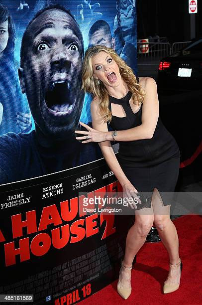 Actress Missi Pyle attends the premiere of Open Road Films' A Haunted House 2 at Regal Cinemas LA Live on April 16 2014 in Los Angeles California
