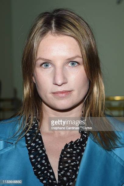 Actress Missia Piccoli attends the Agnes B show as part of the Paris Fashion Week Womenswear Fall/Winter 2019/2020 on March 04 2019 in Paris France
