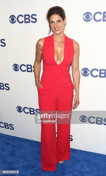 Actress Missy Peregrym attend the 2018 CBS Upfront at The Plaza Hotel on May 16 2018 in New York City