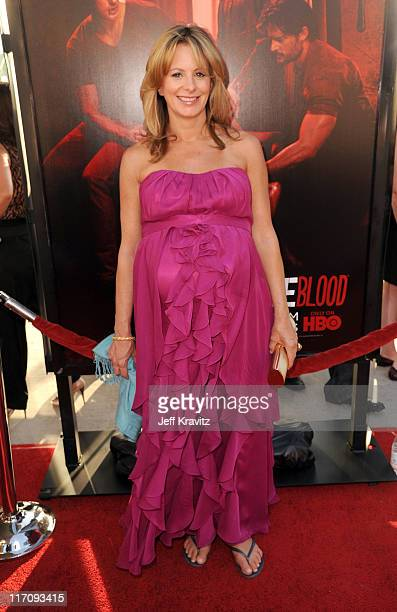 Actress Missy Yager arrives at the HBO Premiere of 'True Blood' Season 4 at ArcLight Cinemas Cinerama Dome on June 21 2011 in Hollywood California
