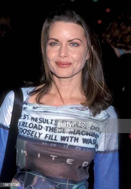Actress Mitzi Kapture attends the premiere of 'The Bachelor' on November 3 1999 at the Cinerama Dome Theater in Hollywood California