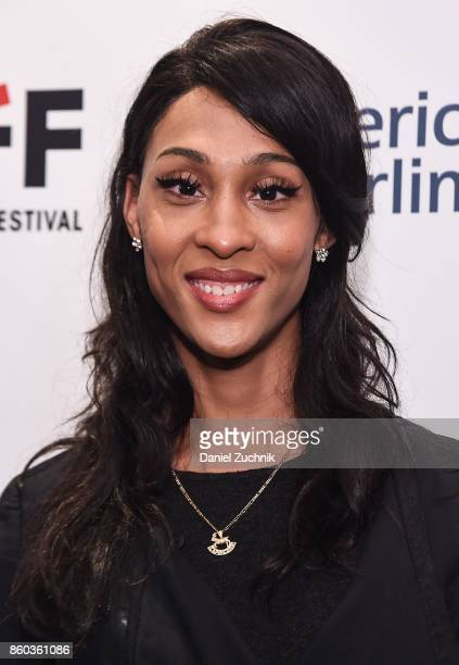 Actress MJ Rodriguez attends the 2017 New York Latino Film Festival Saturday Church opening night screening at Cineopolis Chelsea on October 11 2017...