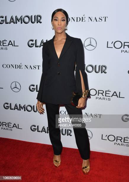 Actress Mj Rodriguez attends the 2018 Glamour Women Of The Year Awards Women Rise on November 12 2018 in New York City