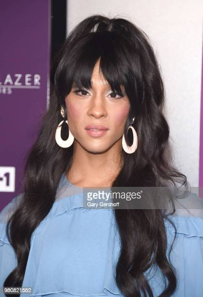 Actress Mj Rodriguez attends the 2018 VH 1 Trailblazer Honors at Cathedral of St John the Divine on June 21 2018 in New York City