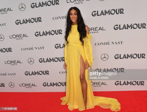 US actress Mj Rodriguez attends the 2019 Glamour Women Of The Year Awards at Alice Tully Hall Lincoln Center on November 11 2019 in New York City