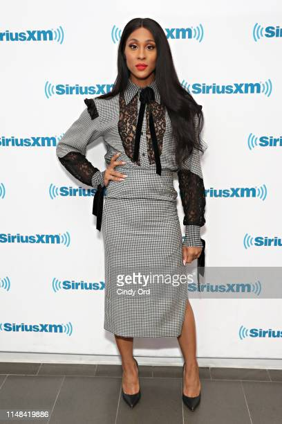 Actress Mj Rodriguez visits the SiriusXM Studios on June 6 2019 in New York City