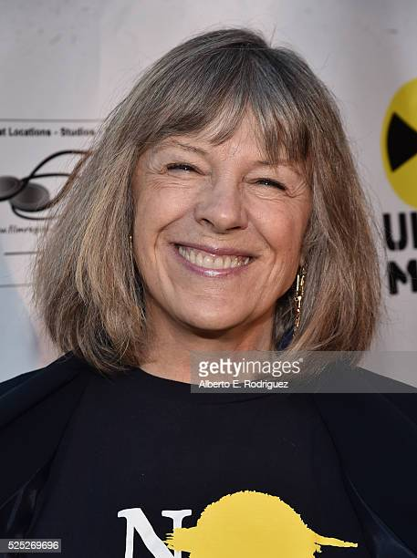 """Actress Mmii Kennedy attends the Atomic Age Cinema Fest Premiere of """"The Man Who Saved The World"""" at Raleigh Studios on April 27, 2016 in Los..."""