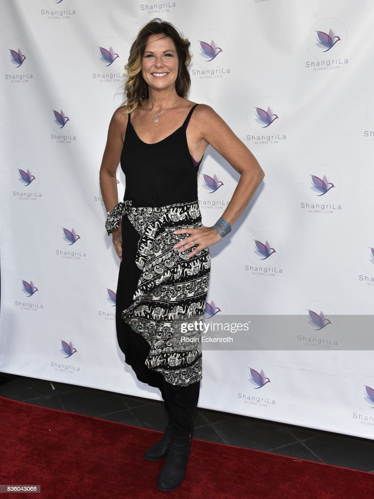 Actress Mo Collins attends the ShangriLa global launch and pop-up store on August 20, 2017 in Beverly Hills, California.