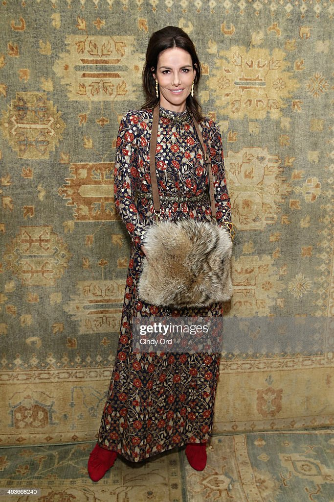 Tory Burch - Front Row - Mercedes-Benz Fashion Week Fall 2015
