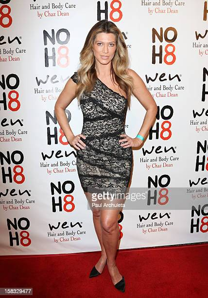 Actress / Model Amber Smith attends 4th anniversary NOH8 campaign celebration at Avalon on December 12 2012 in Hollywood California