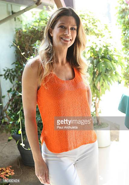 Actress / Model Amber Smith attends the 'Celebrity Rehab Reunion' at The Pasadena Recovery Center on September 11 2013 in Pasadena California