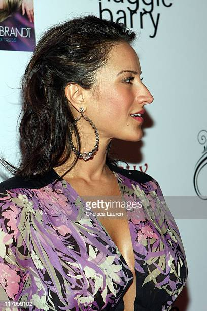 Actress / model America Olivo attends Lauren Hildebrandt's 'Not Really a Waitress' CD Release Party at Les Deux on June 25 2009 in Hollywood...