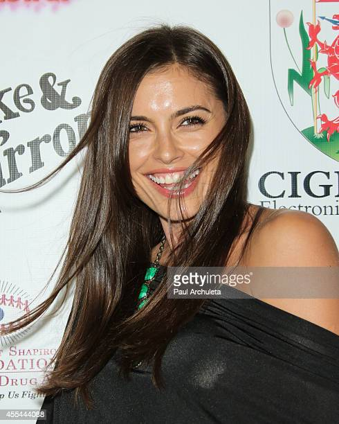 Actress / Model Amra Silajdzic attends the annual 'Summer Spectacular Under The Stars' for the Brent Shapiro foundation for alcohol and drug...