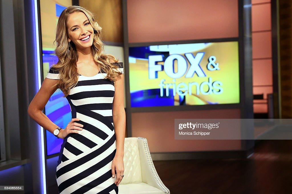 """Miss USA 2015, Olivia Jordan Visits """"FOX & Friends"""""""