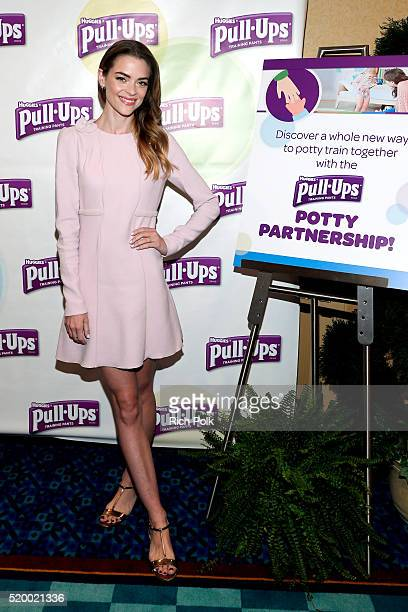 Actress model and mom of two Jaime King attends the PullUps #PottyPartnership launch party at Disneyland Resort in Southern California to discuss a...