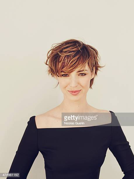 Actress model and television presenter Louise Bourgoin is photographed on May 20 2015 in Cannes France