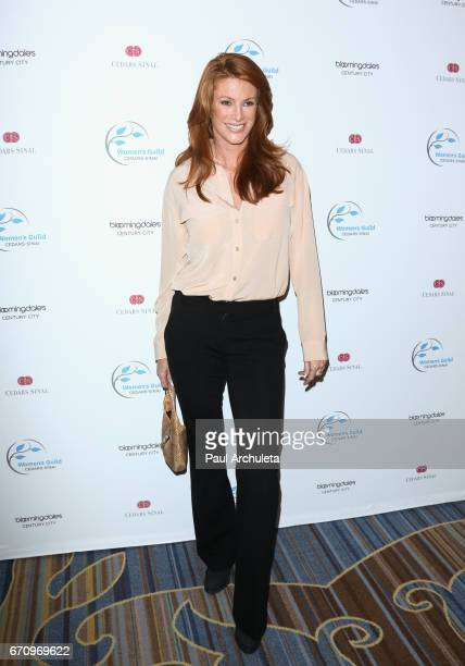 Actress / Model Angie Everhart attends the 2017 Women's Guild CedarsSinai annual Spring luncheon at the Beverly Wilshire Four Seasons Hotel on April...