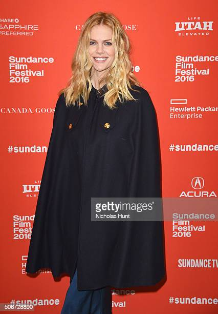 Actress / Model Brooklyn Decker attends 'Lovesong' Premiere during the 2016 Sundance Film Festival at Eccles Center Theatre on January 25 2016 in...