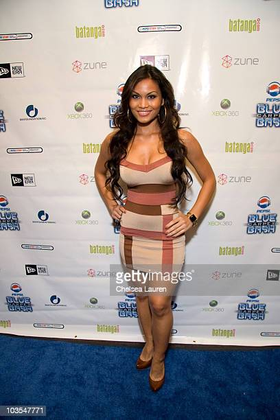 Actress / model Daphne Joy arrives at the 2008 MTV VMA PostParty Pepsi Blue Carpet Bash at the Avalon on September 7 2008 in Hollywood California
